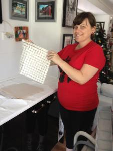 didyke tiling kitchen 10 - my gorgeous assistant