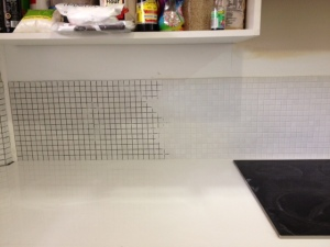 didyke tiling kitchen 15 -before and after grout