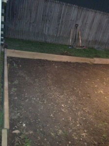 paved outdoor area frame