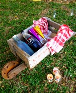 Shazanne anniversay indoor outdoor vintage teepee picnic 6