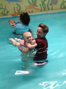 quin's swimming lesson week 1 - 1