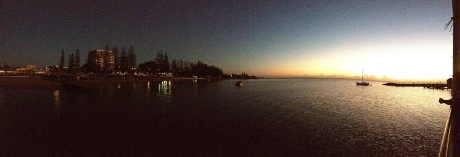 ANZAC day dawn service at redcliffe - predawn 3
