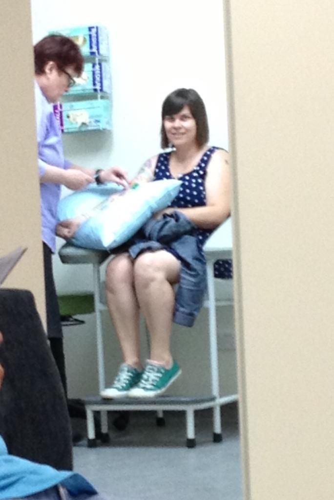 lesbian family blood test pregnancy